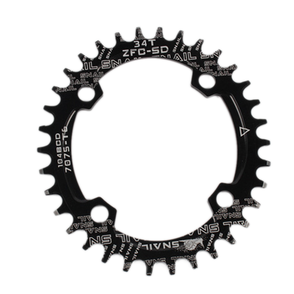 104BCD 32//34//36//38T MTB Mountain Bicycle Round//Oval Narrow Wide Chainring Call